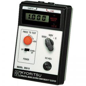 Kyoritsu 3001B - Đồng hồ đo điện trở cách điện kyoritsu 3001B