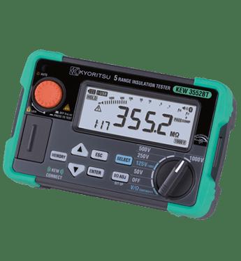 Máy đo điện trở cách điện Kyoritsu 3552BT