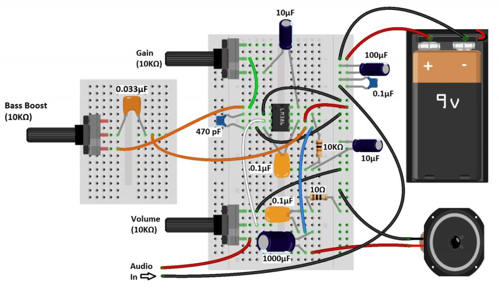 Bộ khuếch đại âm thanh LM386