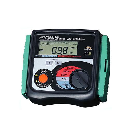 Hướng dẫn sử dụng thiết bị đo điện trở cách điện Kyoritsu 3005A