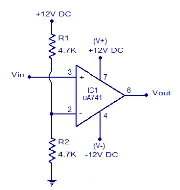 Mạch so sánh điện áp